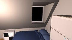 Raumgestaltung Zimmer Meerholz oben in der Kategorie Schlafzimmer