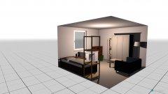 Raumgestaltung Zimmer Mel in der Kategorie Schlafzimmer