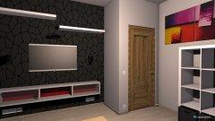 Raumgestaltung Zimmer mit Maßen in der Kategorie Schlafzimmer