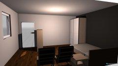 Raumgestaltung zimmer neu 4.8x3.7   2 in der Kategorie Schlafzimmer