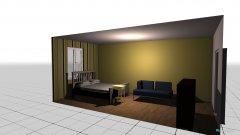 Raumgestaltung Zimmer Ramon in der Kategorie Schlafzimmer