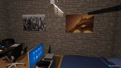 Raumgestaltung Zimmer WG in der Kategorie Schlafzimmer