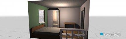 Raumgestaltung zimmer_2 in der Kategorie Schlafzimmer