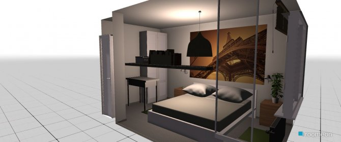 Raumgestaltung Zimmer_Zwei in der Kategorie Schlafzimmer