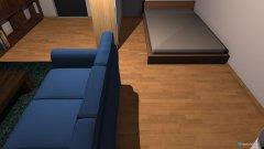 Raumgestaltung ZimmerBeispiel in der Kategorie Schlafzimmer