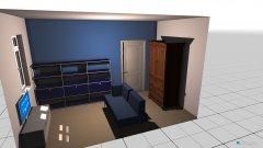 Raumgestaltung Zimmergestaltung in der Kategorie Schlafzimmer