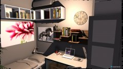 Raumgestaltung Zlatina's bedroom 2 in der Kategorie Schlafzimmer