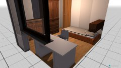 Raumgestaltung Zubau1 in der Kategorie Schlafzimmer