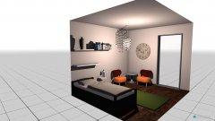 Raumgestaltung Zweite Wohnung Schlafzimmer 2 in der Kategorie Schlafzimmer