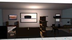 Raumgestaltung แบบห้องนอน in der Kategorie Schlafzimmer