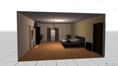 Raumgestaltung غرفة كبيره in der Kategorie Schlafzimmer