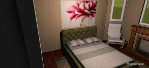 Raumgestaltung спальня in der Kategorie Schlafzimmer