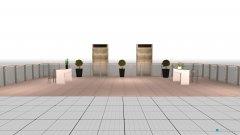 Raumgestaltung azotea in der Kategorie Terrasse