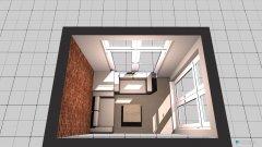 Raumgestaltung Balkon in der Kategorie Terrasse