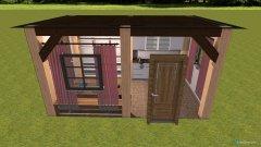Raumgestaltung Gartenhaus in der Kategorie Terrasse