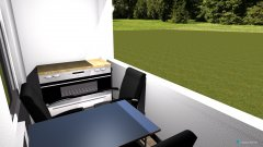 Raumgestaltung Loggia in der Kategorie Terrasse
