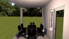 Raumgestaltung terasz in der Kategorie Terrasse