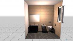Raumgestaltung łazienka parter in der Kategorie Toilette