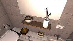 Raumgestaltung łazienka in der Kategorie Toilette