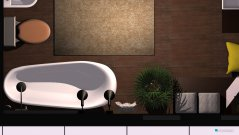 Raumgestaltung baño in der Kategorie Toilette