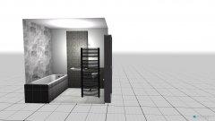 Raumgestaltung Bad 1 in der Kategorie Toilette