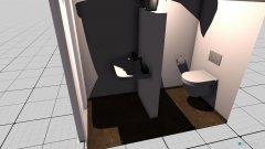 Raumgestaltung Bad als Klo in der Kategorie Toilette