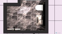 Raumgestaltung Bad BALTRUM in der Kategorie Toilette