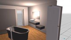 Raumgestaltung BAd Haus 2 in der Kategorie Toilette