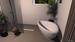 Raumgestaltung Bad Sauna hinten in der Kategorie Toilette