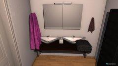 Raumgestaltung bad test 1 in der Kategorie Toilette
