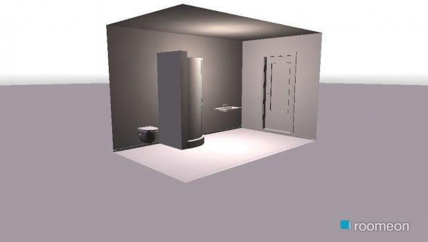 Raumgestaltung Bad1 in der Kategorie Toilette