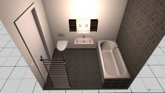 Raumgestaltung bad2 in der Kategorie Toilette