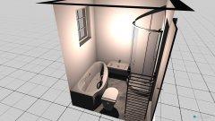 Raumgestaltung Badvergrösserung in der Kategorie Toilette