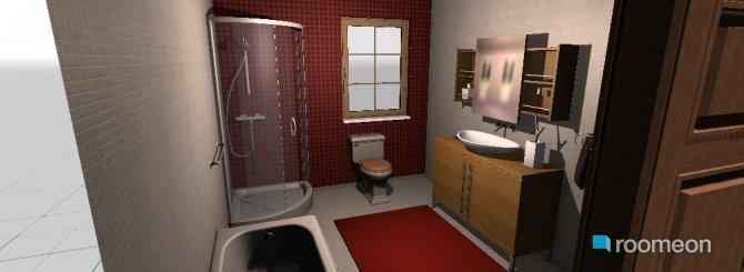 Raumgestaltung banho in der Kategorie Toilette