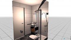 Raumgestaltung Bude 6 - Bad in der Kategorie Toilette