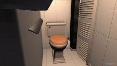 Raumgestaltung Dusche Untergeschoss in der Kategorie Toilette