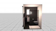 Raumgestaltung Dusche in der Kategorie Toilette