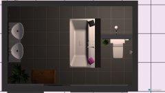 Raumgestaltung EG_Bad in der Kategorie Toilette