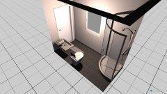 Raumgestaltung G-WC in der Kategorie Toilette