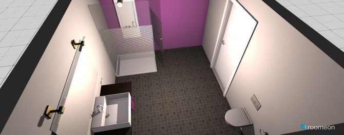 Raumgestaltung Gäste-WC EG in der Kategorie Toilette