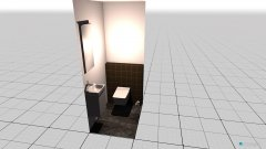 Raumgestaltung Gäste-WC in der Kategorie Toilette