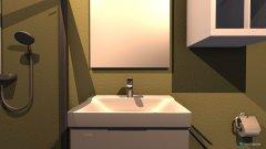 Raumgestaltung Gästeklo groß in der Kategorie Toilette