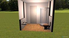 Raumgestaltung Gästetoilette in der Kategorie Toilette