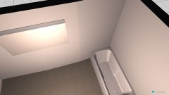 Raumgestaltung haus in der Kategorie Toilette