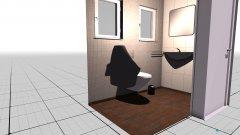 Raumgestaltung kleines KLO in der Kategorie Toilette
