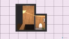 Raumgestaltung Klo und Abstellraum Obergeschoss in der Kategorie Toilette