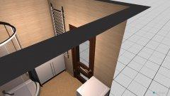 Raumgestaltung lazienka in der Kategorie Toilette