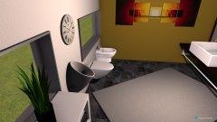 Raumgestaltung oben in der Kategorie Toilette
