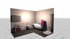 Raumgestaltung Samuel in der Kategorie Toilette
