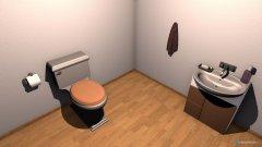 Raumgestaltung tuvalet in der Kategorie Toilette